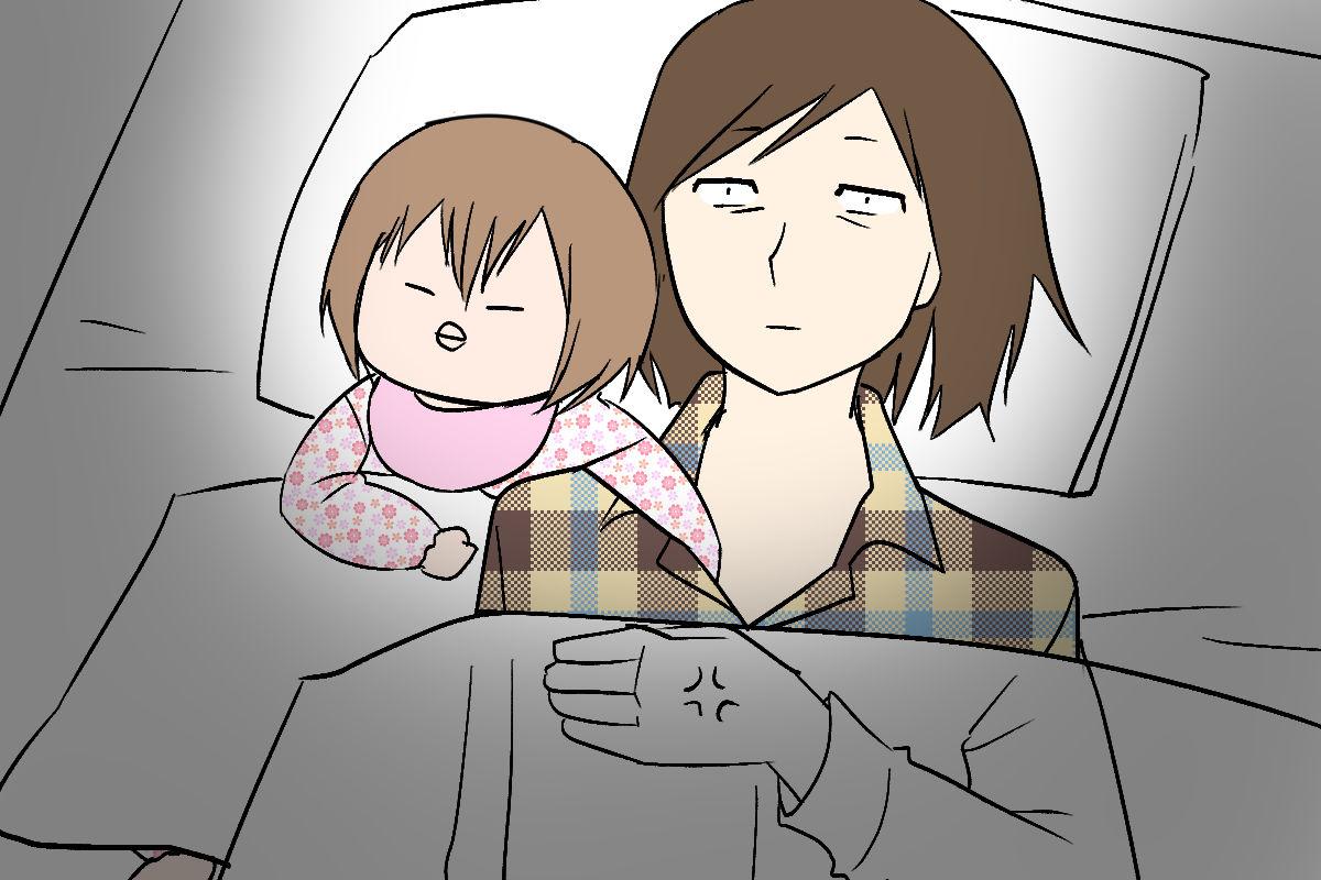 夜 ない 新生児 寝