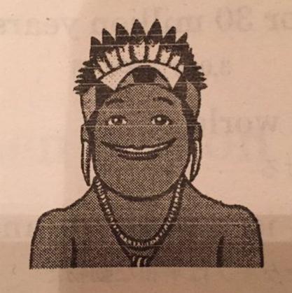 尊師のイラストが高校の英語プリントに使われたのは偶然だった