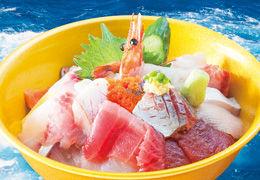 黄金海鮮丼