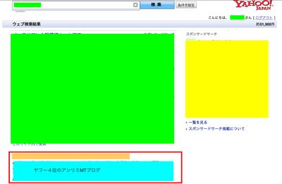 アンリミMTブログがヤフー4位!の検証