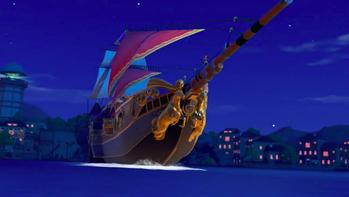 ドラクエ 船