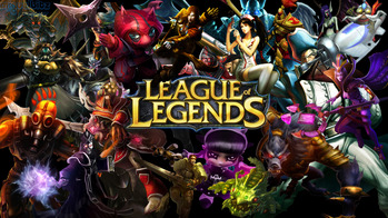 League of Legends メイン