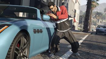 GTA5 車 盗む