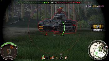 World of Tanks 戦闘