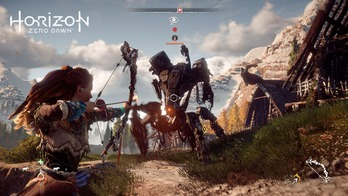 Horizon Zero Dawn プレイ