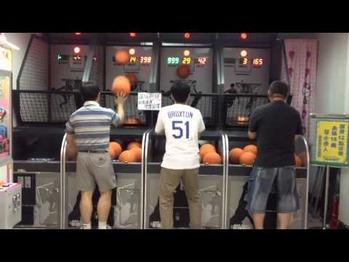 バスケ アーケードゲーム
