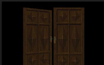 ロード画面バイオハザードドア