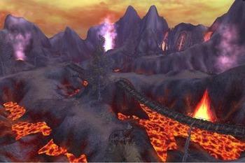 火山ダンジョン