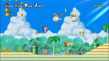 newスーパーマリオブラザーズ Wii