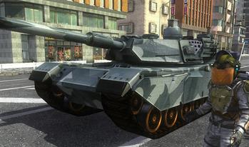 地球防衛軍 戦車