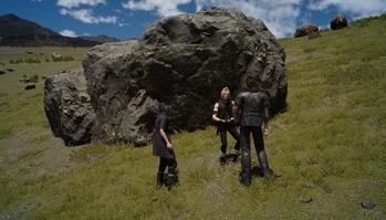 FF15 岩