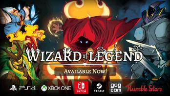 Wizard of Legend パッケージ