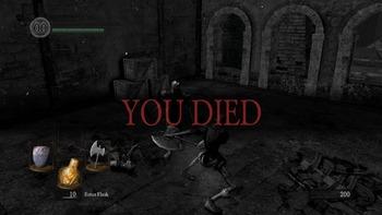 ダークソウル you died