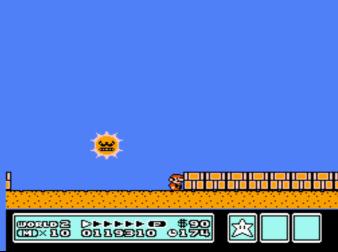 マリオ3の太陽