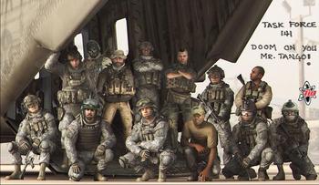 Call of Duty:Modern Warfare 2集合写真