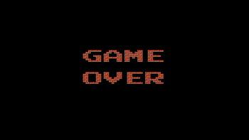 ゲームオーバー レトロゲーム