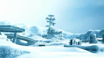 雪ステージ