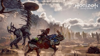horizon zero dawn ダッシュ