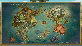 二ノ国2 ワールドマップ