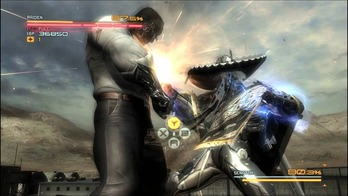 Metal Gear Rising QTE