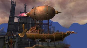 飛行船 ゲーム-s