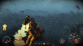 Fallout4ジェットパック