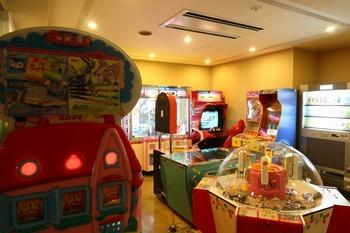 旅館ゲームコーナー