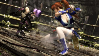 DEAD OR ALIVE 5 ゲーム画面