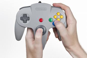 N64コントローラ-s