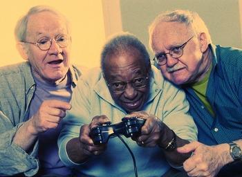 old-gamersプレイ