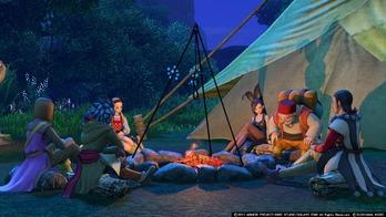 DQ11 キャンプ