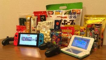 ゲーム お菓子