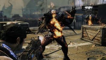 gears of war3プレイ画面