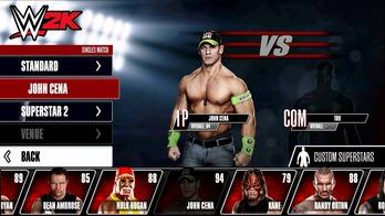 WWE 2k-s