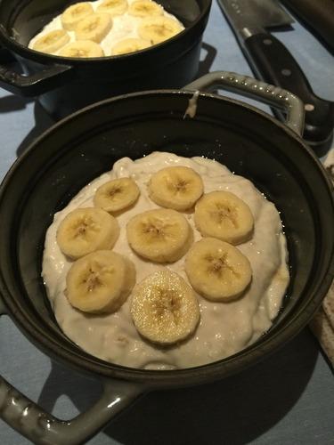 バナナブレッド準備