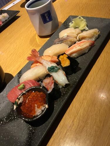小樽で寿司!