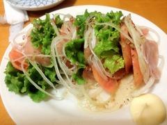 トマト生ハムサラダ