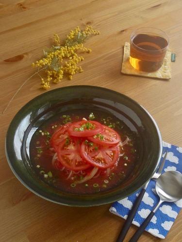 冷製和風トマトパスタ