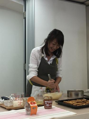 チーズケーキ工程