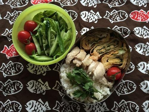 海南鶏飯弁当