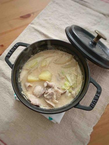 みそ豆乳鍋