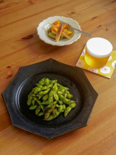 カレー焼き枝豆