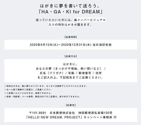 アプリ アナタ フォー ドリーム 嵐