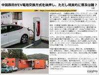 中国政府がEV電池交換方式を後押し、ただし現実的に普及は難?のキャプチャー