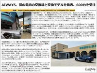 AIWAYS、初の電池の交換場と交換モデルを発表、600台を受注のキャプチャー