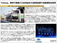 Yutong、鄭州で路線バスを完全な5G路車協調で自動運転を実現のキャプチャー
