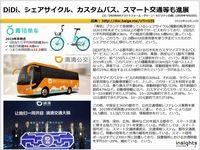 DiDi、シェアサイクル、カスタムバス、スマート交通等も進展のキャプチャー