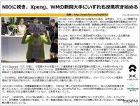 NIOに続き、Xpeng、WMの新興大手にいずれも逆風吹き始めるのキャプチャー