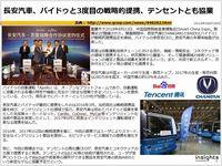 長安汽車、バイドゥと3度目の戦略的提携、テンセントとも協業のキャプチャー