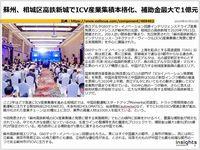 蘇州、相城区高鉄新城でICV産業集積本格化、補助金最大で1億元のキャプチャー
